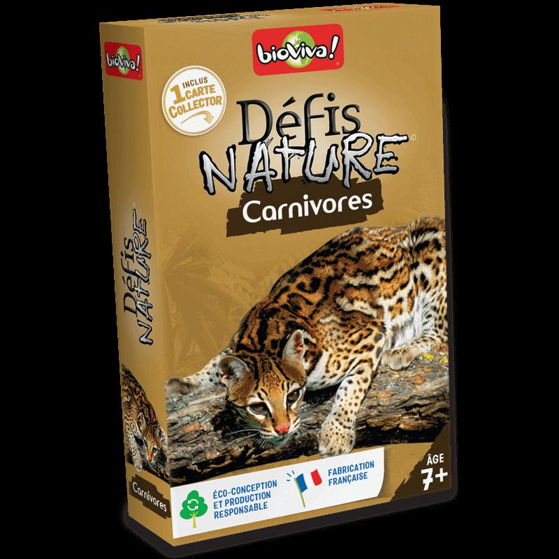 Défis Nature les Carnivores - Jeu à partir de 7 ans - Bioviva, créateur de jeux qui font du bien.