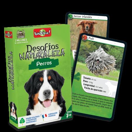 Desafios Naturaleza Perros - Juego a partir de 7 años - Bioviva, creador de juegos que hacen el bien.