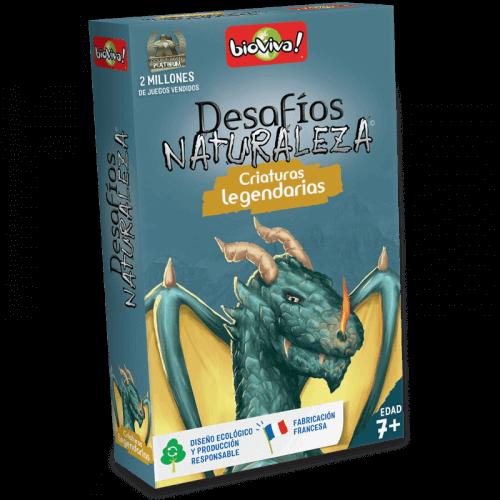 Desafios Naturaleza Criaturas legendarias - Juego a partir de 7 años - Bioviva, creador de juegos que hacen el bien.