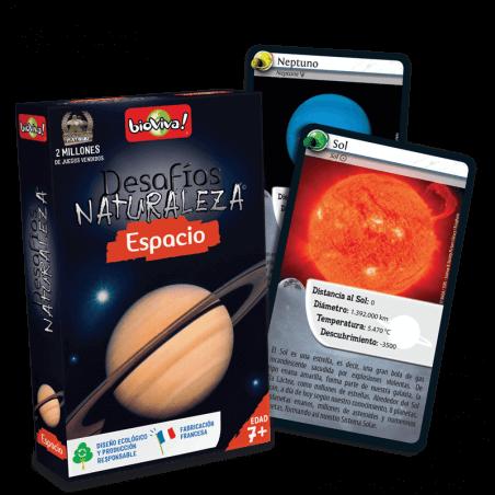 Desafíos Naturaleza Espacio - Juego a partir de 7 años - Bioviva, creador de juegos que hacen el bien.