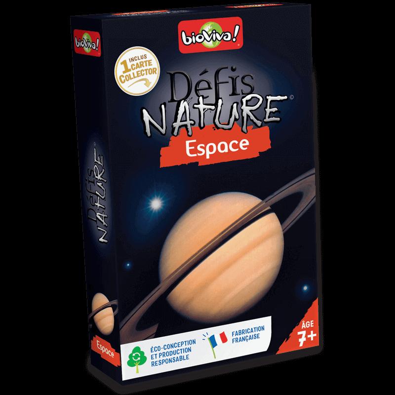 Défis Nature Espace - Jeu à partir de 7 ans - Bioviva, créateur de jeux qui font du bien.