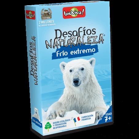 Desafíos Naturaleza - Frío extremo - Juego a partir de 7 años - Bioviva, creador de juegos que hacen el bien.