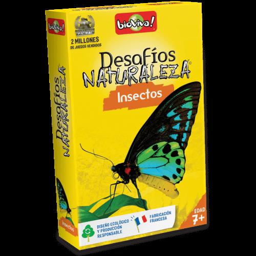 Desafíos Naturaleza Insectos - Juego a partir de 7 años - Bioviva, creador de juegos que hacen el bien.