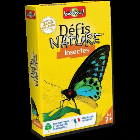 Défis Nature Insectes - Jeu à partir de 7 ans - Bioviva, créateur de jeux qui font du bien.