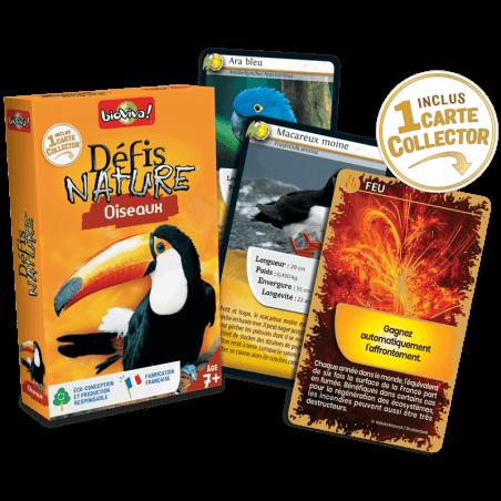 Défis Nature Oiseaux - Jeu à partir de 7 ans - Bioviva, créateur de jeux qui font du bien.