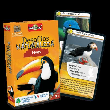 Desafíos Naturaleza Aves - Juego a partir de 7 años - Bioviva, creador de juegos que hacen el bien.