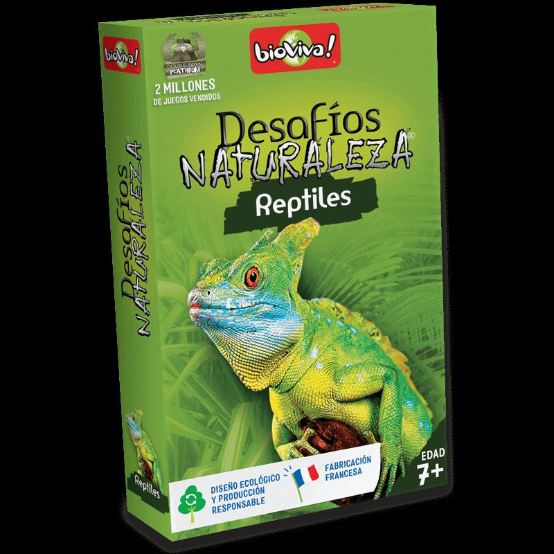 Desafíos Naturaleza Reptiles - Juego a partir de 7 años - Bioviva, creador de juegos que hacen el bien.