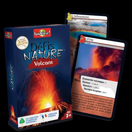 Défis Nature Volcans - Jeu à partir de 7 ans - Bioviva, créateur de jeux qui font du bien.