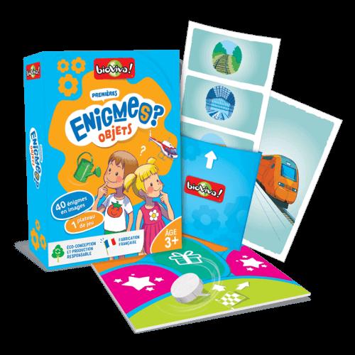 Jeux d'énigmes : Mes premières énigmes Objets - Bioviva, créateur de jeux qui font du bien.