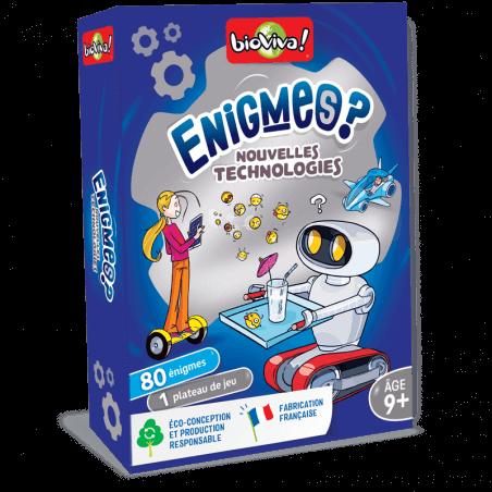 Jeux d'énigmes : Les nouvelles technologies - Bioviva, créateur de jeux qui font du bien.