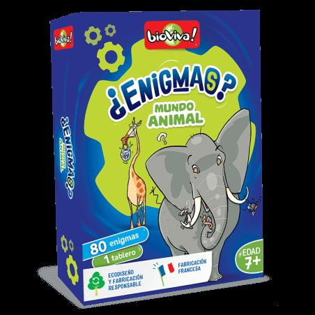 Enigmas - Mundo Animal - Bioviva, creador de juegos que hacen el bien.