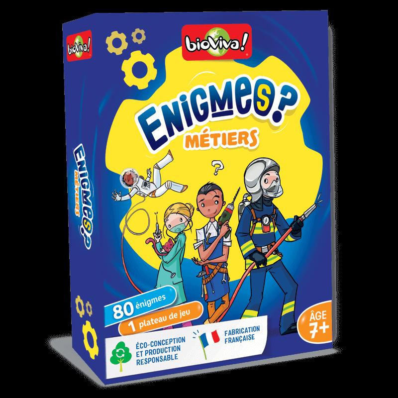 Jeux d'énigmes : Les métiers - Bioviva, créateur de jeux qui font du bien.
