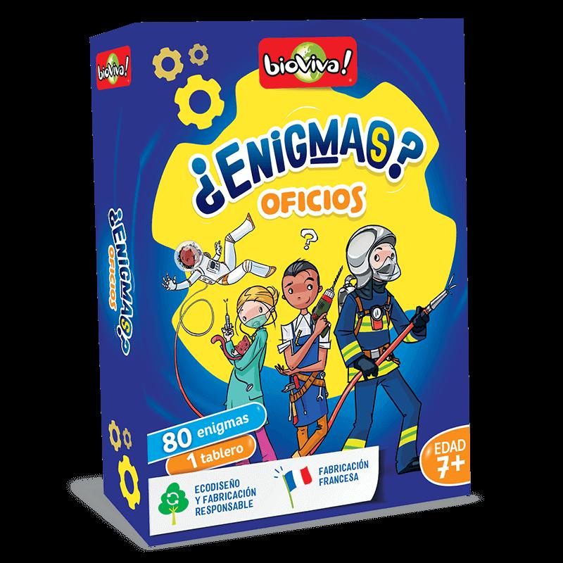 Enigmas - Oficios- Bioviva, creador de juegos que hacen el bien.