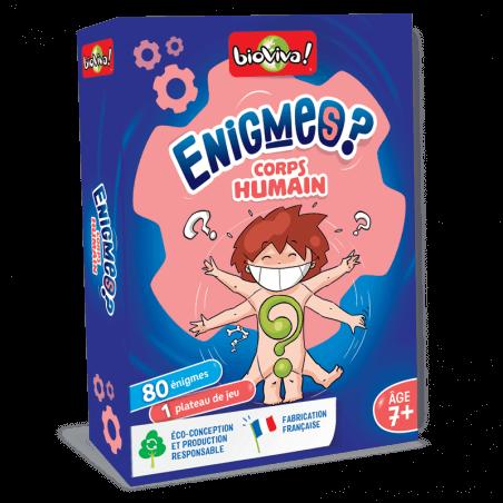 Jeux d'énigmes - Le corps humain - Bioviva, créateur de jeux qui font du bien.