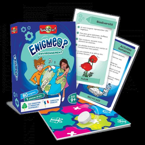 Jeux d'énigmes - Environnement - Bioviva, créateur de jeux qui font du bien.