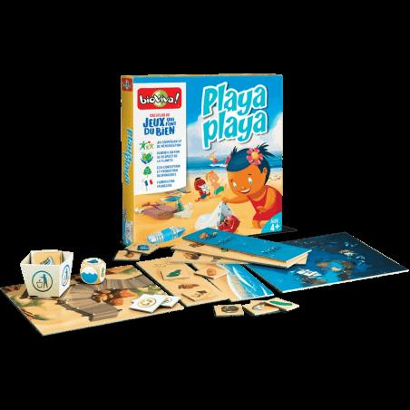Playa Playa - Jeu à partir de 4 ans - Bioviva, créateur de jeux qui font du bien.