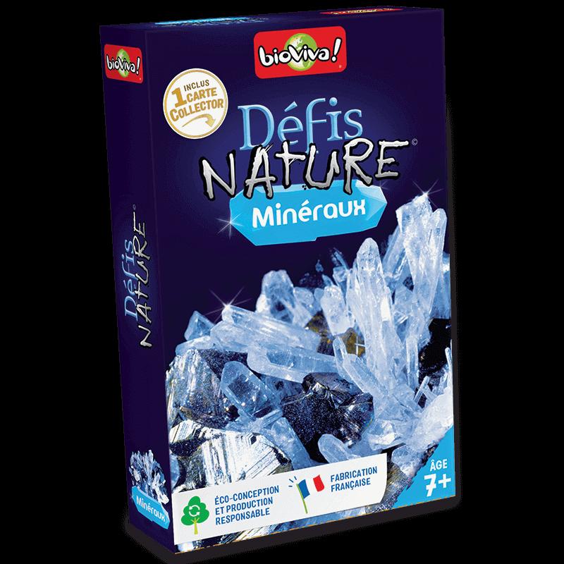 Défis Nature Minéraux - Jeu à partir de 7 ans - Bioviva, créateur de jeux qui font du bien.