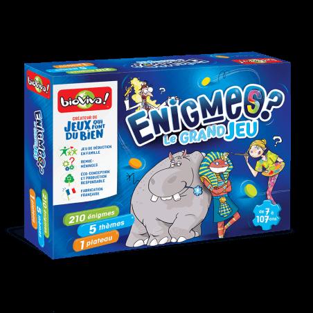 Jeux d'énigmes - Le grand jeu - Bioviva, créateur de jeux qui font du bien.