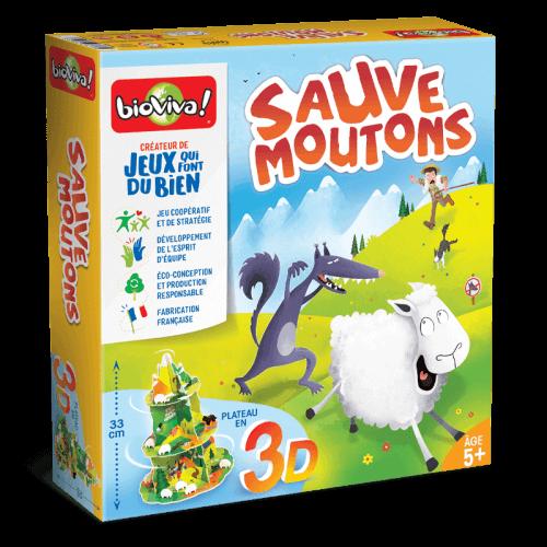 Sauve Moutons - Jeu à partir de 4 ans - Bioviva, créateur de jeux qui font du bien.