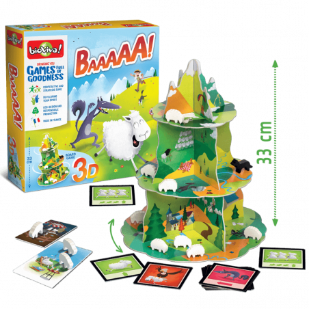 Baaaaa! Game from 4 years old - Bioviva, creator of games that do good.