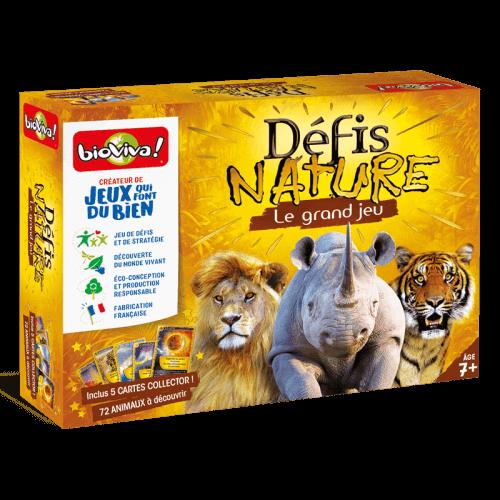 Défis Nature Le grand jeu Collector - Jeu à partir de 7 ans - Bioviva, créateur de jeux qui font du bien.