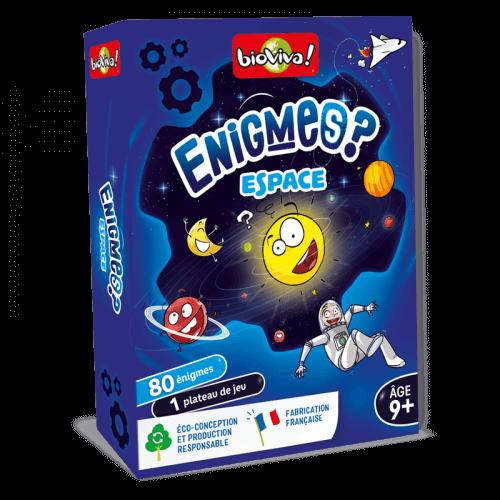 Jeux d'énigmes : Espace - Bioviva, créateur de jeux qui font du bien.