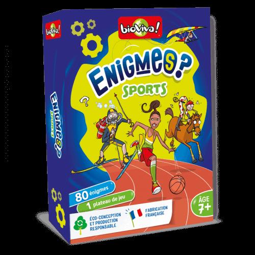 Jeux d'énigmes : Sports - Bioviva, créateur de jeux qui font du bien.