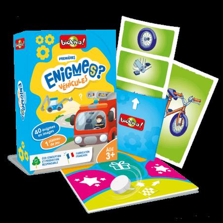 Jeux d'énigmes : Véhicules - Bioviva, créateur de jeux qui font du bien.