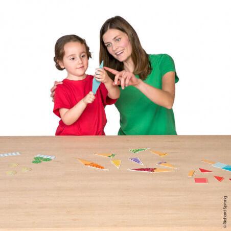 Mes associations Montessori - Je touche - Bioviva, créateur de jeux qui font du bien.