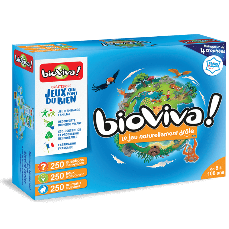 Bioviva le Grand Jeu - Jeu à partir de 6 ans - Bioviva, créateur de jeux qui font du bien.