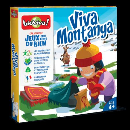 Viva Montanya - Jeu à partir de 4 ans - Bioviva, créateur de jeux qui font du bien.