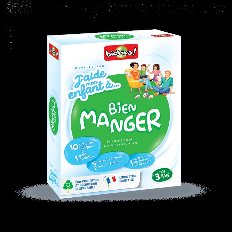 J'aide mon enfant à... bien manger - Bioviva, créateur de jeux qui font du bien.