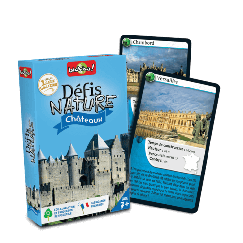 Défis Nature Châteaux - Jeu à partir de 7 ans - Bioviva, créateur de jeux qui font du bien.