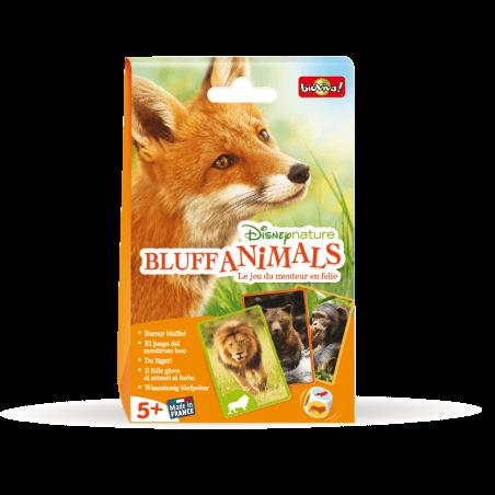 Bluff Animals - Disneynature - Jeu à partir de 5 ans - Bioviva, créateur de jeux qui font du bien.