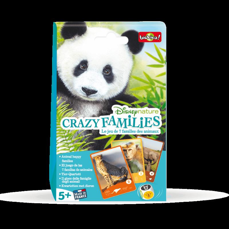 Crazy Families - Disneynature - Jeu à partir de 5 ans - Bioviva, créateur de jeux qui font du bien.