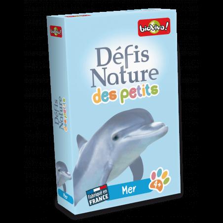 Défis Nature des Petits - Mer - Jeu à partir de 4 ans - Bioviva, créateur de jeux qui font du bien.