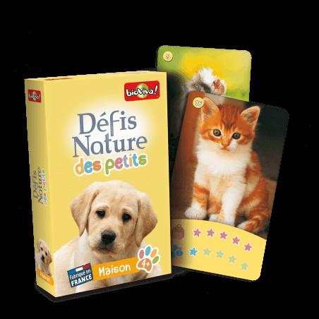 Défis Nature des Petits - Maison - Jeu à partir de 4 ans - Bioviva, créateur de jeux qui font du bien.