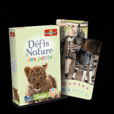 Défis Nature des Petits - Jungle - Jeu à partir de 4 ans - Bioviva, créateur de jeux qui font du bien.