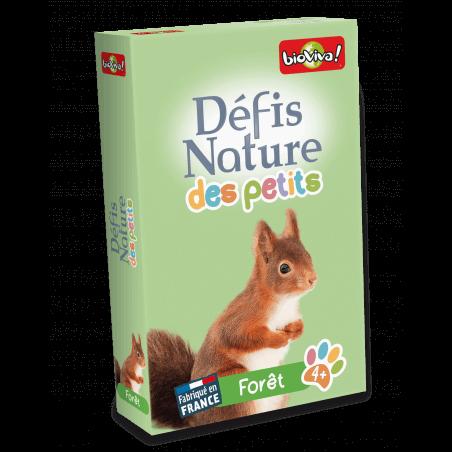 Défis Nature des Petits - Forêts - Jeu à partir de 4 ans - Bioviva, créateur de jeux qui font du bien.