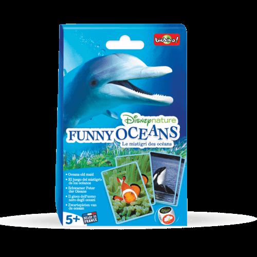 Funny Oceans - Disneynature - Jeu à partir de 5 ans - Bioviva, créateur de jeux qui font du bien.