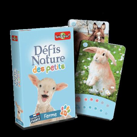 Défis Nature des Petits - La ferme - Jeu à partir de 4 ans - Bioviva, créateur de jeux qui font du bien.