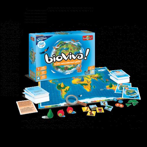 Bioviva Le jeu - Jeu à partir de 8 ans - Bioviva, créateur de jeux qui font du bien.