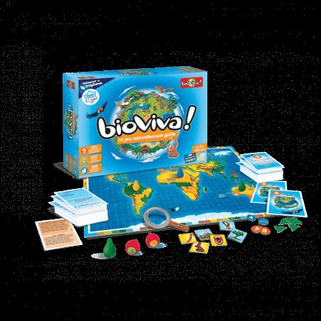 Bioviva Le jeu - Bioviva Junior - Jeux à partir de 5 ans et 8 ans - Bioviva, créateur de jeux qui font du bien.