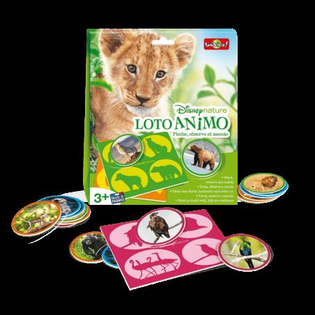 Loto Animo - Disneynature - Jeu à partir de 3 ans - Bioviva, créateur de jeux qui font du bien.