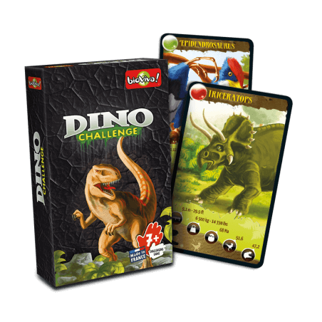 Dino Challenge - Game from 7 years old - Bioviva, creator of games that do good.