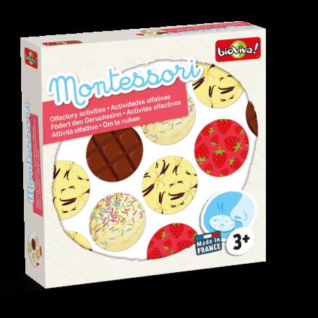 Montessori - I can smell - Bioviva, creator of games that do good.