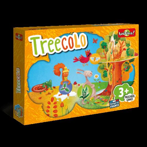 Treecolo - Jeu à partir de 3 ans - Bioviva, créateur de jeux qui font du bien.