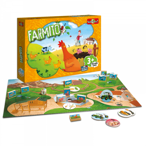 Farmito - Game from 3 years old - Bioviva, creator of games that do good.