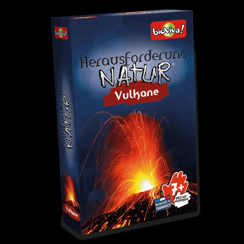 Herausforderung Natur - Vulkane - Spiel ab 7 Jahren - Bioviva, Entwickler von Spielen, die Gutes tun.