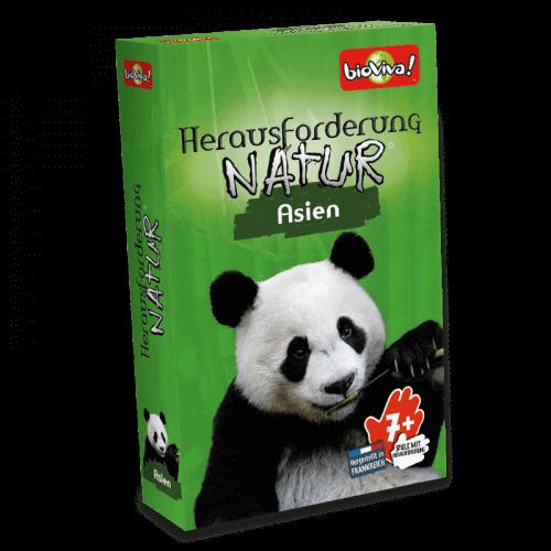 Herausforderung Natur Asien - Spiel ab 7 Jahren - Bioviva, Entwickler von Spielen, die Gutes tun.